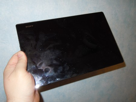 Sony Xperia Z Tablet in the house!