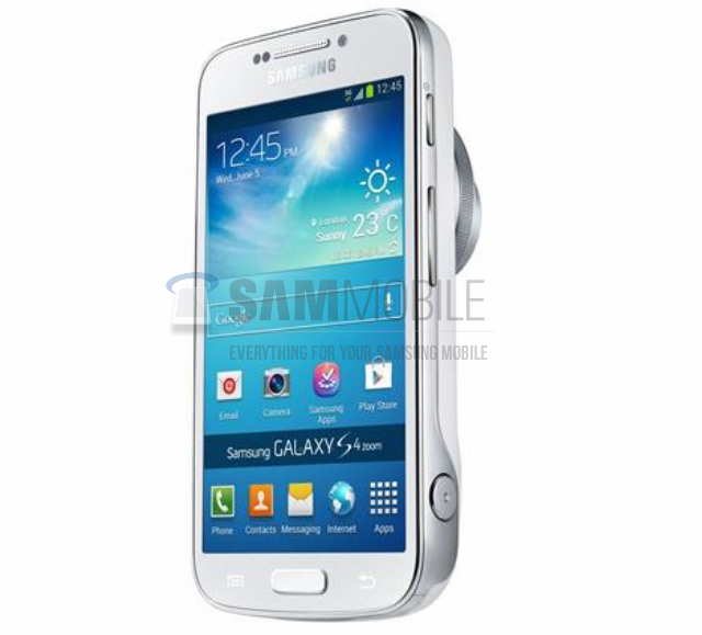 Samsung Galaxy S4 Zoom product image appears   updated with more images