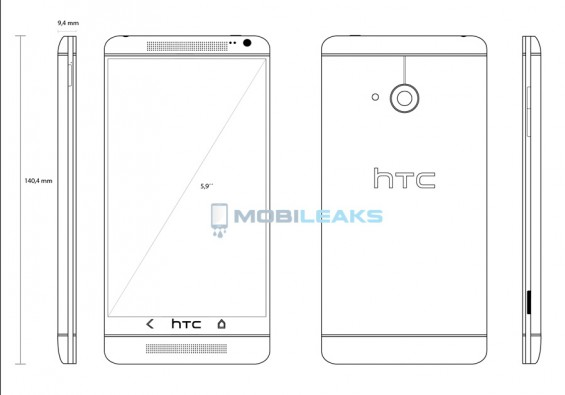 HTC T6 to be called One Max, I guess Mega was taken!