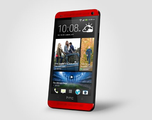 HTC One arrives in red (Update)