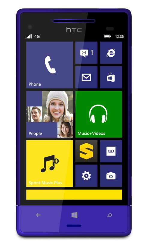 HTC, Sprint and Microsoft join forces   The HTC 8XT