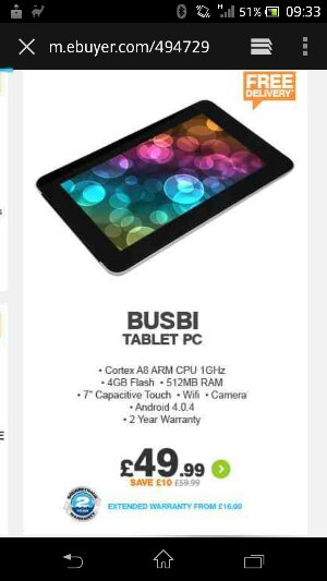 Alert! Random cheap tablet news item