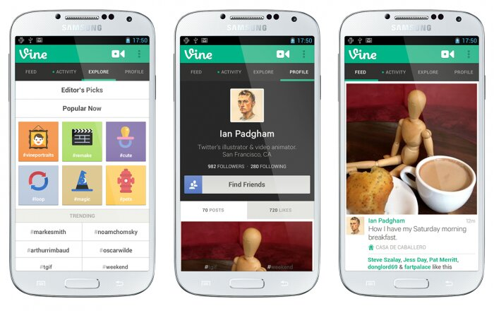 Vine for Android is nearly available