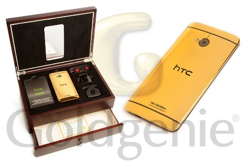 HTC One. Howd you fancy a 24 Carat Gold version?