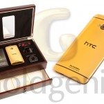 HTC One. How'd you fancy a 24 Carat Gold version?