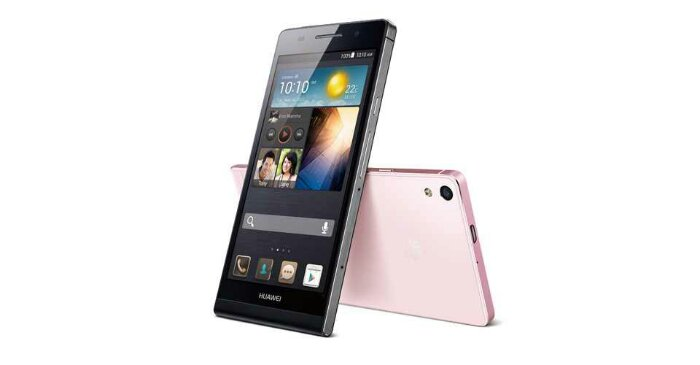 Huawei announce the Ascend P6
