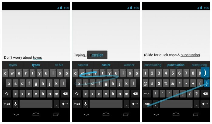 Google release their own keyboard on the Play Store