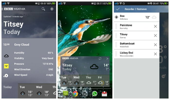 BBC Weather app comes to Android
