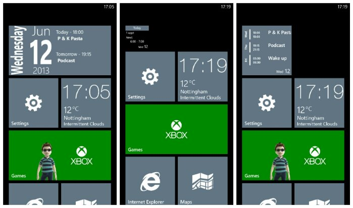 Windows Phone App Review   Simple Calendar