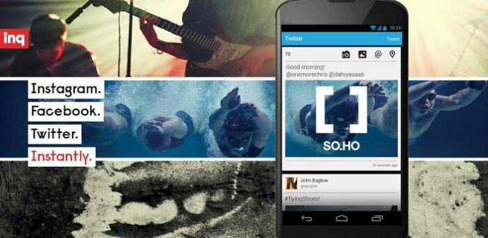 SO.HO Launcher for Android brings Social Media to your homescreen