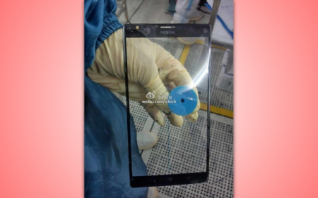 Lumia phablet spotted, or at least part of one