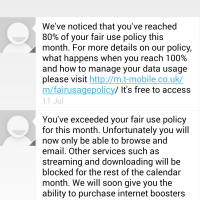 T-Mobile policy change