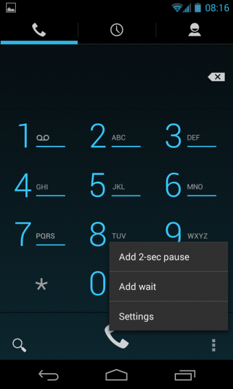 How to: Enable Dial Pad Auto Complete in Android 4.3