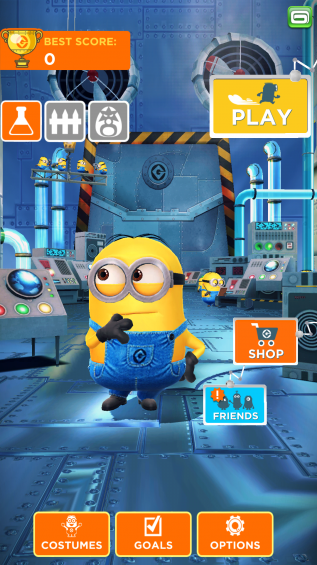 Despicable Me Minion Rush Screenshot 3