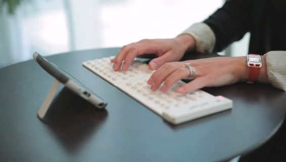 myType Bluetooth foldable keyboard gets pots of Kickstarter cash