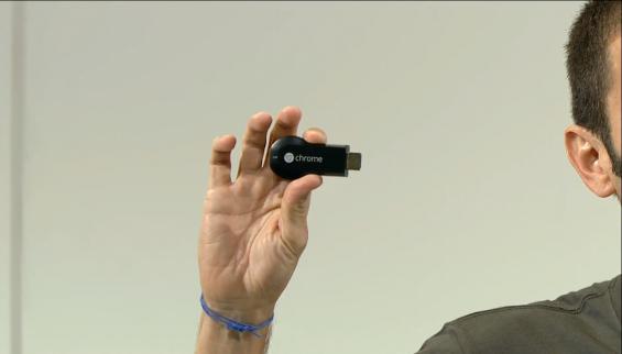 Chromecast announced