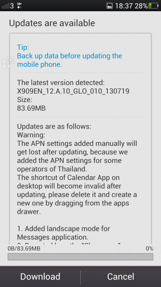OPPO Find 5 gets major firmware update