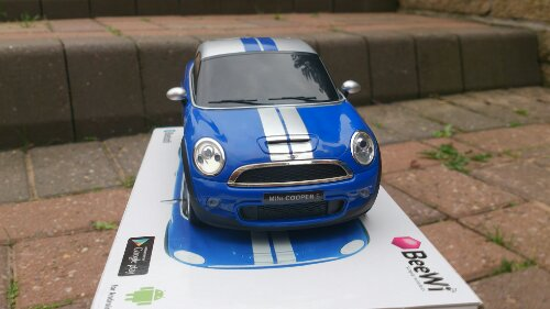 BeeWi Bluetooth controlled Mini Cooper Coupé review