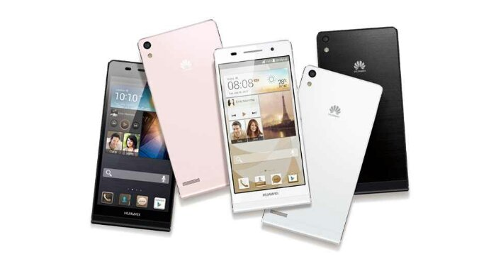 Huawei Ascend P6 is now available SIM free
