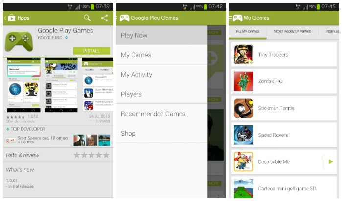 Google Play Games is now available for Android