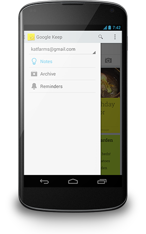Google updates Keep for Android