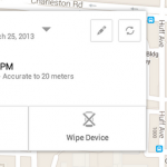 Find your lost phone with Android Device Manager