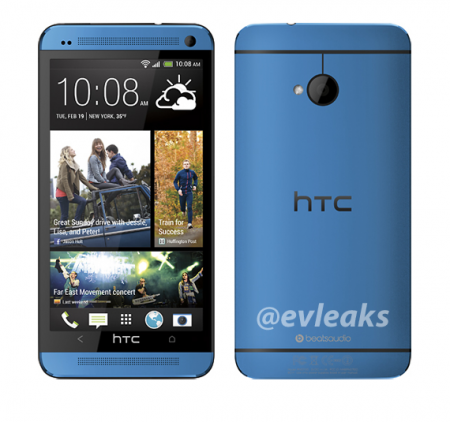 HTC One in Blue