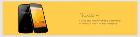 Nexus 4 now reduced