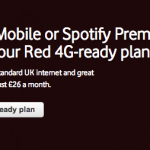 Vodafone 4G plans now available