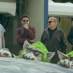 Robert Downey Jr. gets his chopper out, creates a Happy Telephone Company