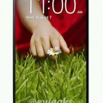 The upcoming LG G2 images leak out prior the big event