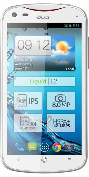 Acer Liquid E2 is now available on Three
