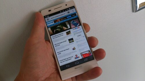 The Huawei Ascend P6 is already getting a bit cheaper