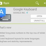 Google Keyboard for Android gets an update