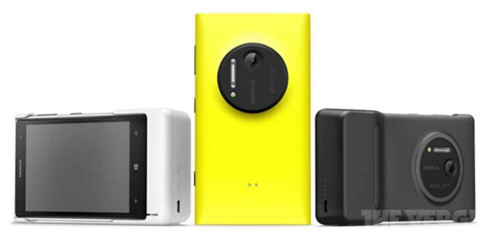 The Nokia Lumia 1020 goes up for pre order in the UK