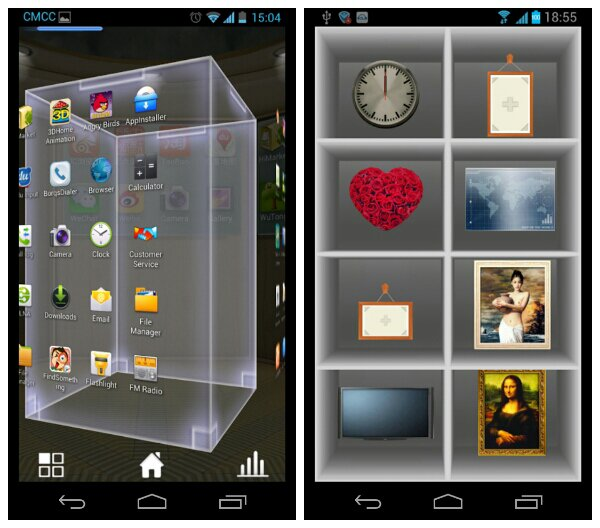 Are you looking for an unprecedented, never before seen 3D homescreen experience?