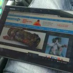 Sony Xperia Tablet Z now on Three