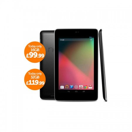Cheap refurbished Nexus 7 tablets on Play.com