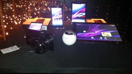 Sony Z1 launch event