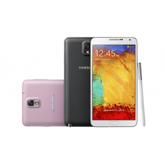 Samsung announce the Galaxy Note 3