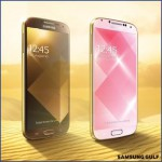 Samsung announce gold Galaxy S4s