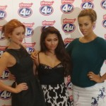 Upgrade with The Saturdays at Phones4U today