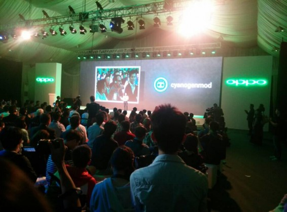 Oppo N1 unleashed with rotating camera.
