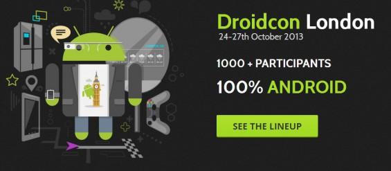 Droidcon kicks off next month