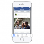 Facebook for iOS updated following release of iOS 7