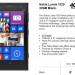Nokia Lumia 1020 on Three – £549.99 PAYG