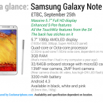 Get yourself a free wireless speaker, flip case and more when you buy a Galaxy Note 3