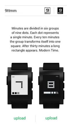 Add additional watchfaces to your Pebble watch