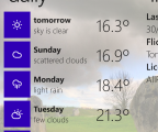 Umbrella 8 Weather app