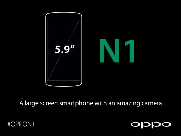 The Oppo N1 is going to be rather large